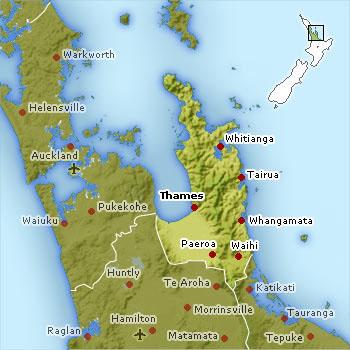 New Zealand's Coromandel Peninsula